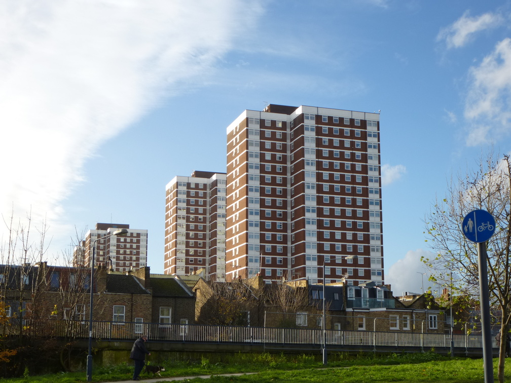 Highrises at Shepherd's Bush