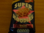 Bacon flavored noodles