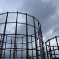 Gasworks near Regent's Canal, 'daylight' shot
